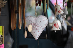 Coração Handmade Foto de Stock
