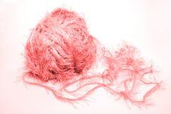 Coração macio cor-de-rosa Fotografia de Stock