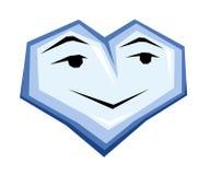 Coração masculino Imagem de Stock
