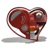 Coração mecânico Foto de Stock Royalty Free