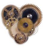Coração mecânico imagens de stock royalty free