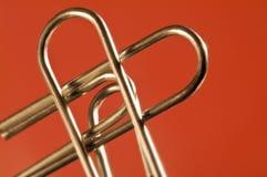 Coração metálico Fotos de Stock Royalty Free