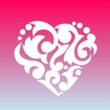 Coração modelado Elemento para seu projeto Fotografia de Stock Royalty Free