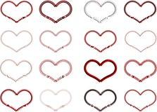 Coração no dia de Valentim Fotografia de Stock