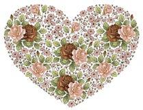 Coração no dia de Valentim. Fotografia de Stock