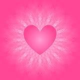 Coração no laço Imagem de Stock