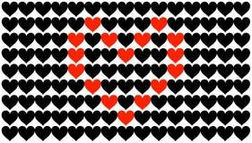 Coração nos corações Fotos de Stock Royalty Free