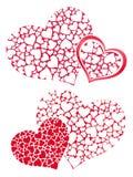 Coração nos corações 2 Fotografia de Stock Royalty Free