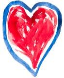 Coração para o dia do Valentim Fotos de Stock Royalty Free