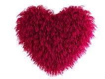 Coração peludo Imagens de Stock Royalty Free
