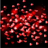 coração pequeno vermelho Imagens de Stock