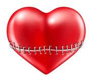 Coração quebrado Imagens de Stock