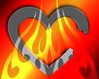 Coração quebrado 2 Imagem de Stock Royalty Free