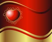 Coração real Fotos de Stock