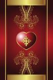 Coração real ilustração royalty free