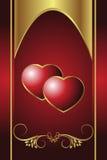 Coração real ilustração do vetor