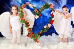 Coração romântico Foto de Stock Royalty Free