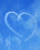 Coração romântico Imagens de Stock