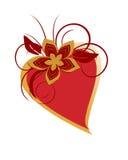 Coração romântico Imagem de Stock Royalty Free