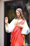 Coração sagrado de Jesus Foto de Stock Royalty Free