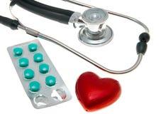 Coração saudável imagem de stock