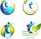 Coração saudável, estilo de vida ilustração royalty free