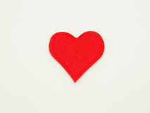 Coração solitário Imagens de Stock