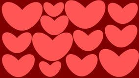Coração Stickers ilustração do vetor