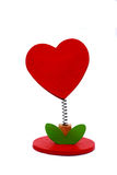 Coração - suporte Fotos de Stock Royalty Free