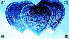 Coração triplo Foto de Stock