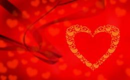 Coração vazio Imagens de Stock Royalty Free