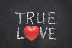 Coração verdadeiro do amor foto de stock royalty free