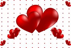 Coração vermelho Fotografia de Stock Royalty Free