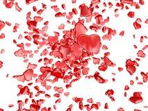 Coração vermelho ilustração do vetor