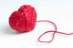 Coração vermelho Foto de Stock