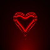 Coração vermelho 2 ilustração royalty free