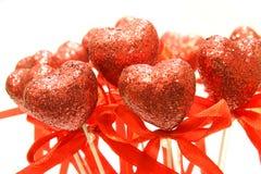 Coração vermelho Imagem de Stock