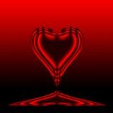 Coração vermelho 4 ilustração royalty free