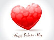 Coração vermelho do Valentim Foto de Stock Royalty Free