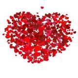 Coração vermelho do Valentim Foto de Stock
