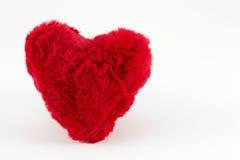 Coração vermelho macio Imagem de Stock