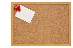 Coração vermelho, o dia de Valentim Fotografia de Stock