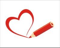 Coração (vetor) Fotos de Stock