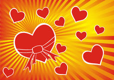 Coração (vetor) Fotos de Stock Royalty Free