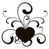 Coração, vetor Imagem de Stock