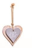 Coração vivo da vida do amor Fotografia de Stock Royalty Free