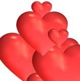 Corações Foto de Stock Royalty Free