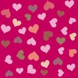 Corações Fotografia de Stock