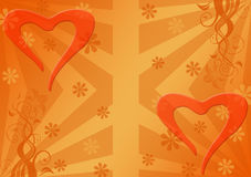 Corações. Foto de Stock