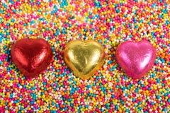 3 corações Imagem de Stock Royalty Free